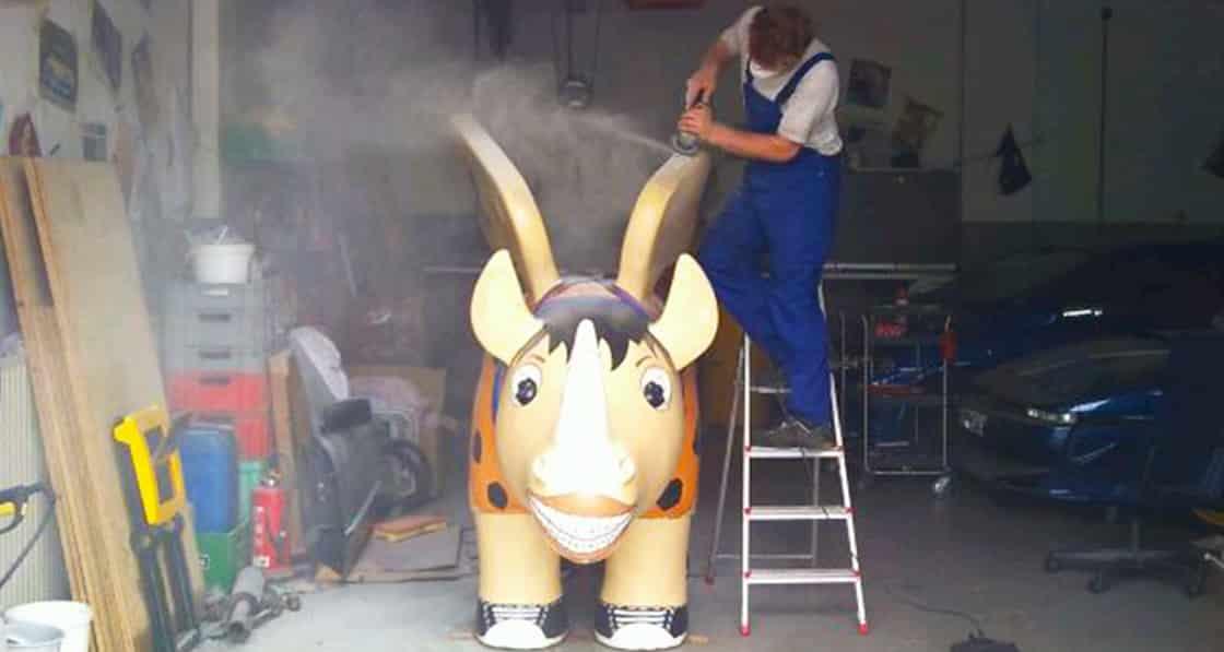 Auch unser Rhino musste mal zum Arzt :) 3